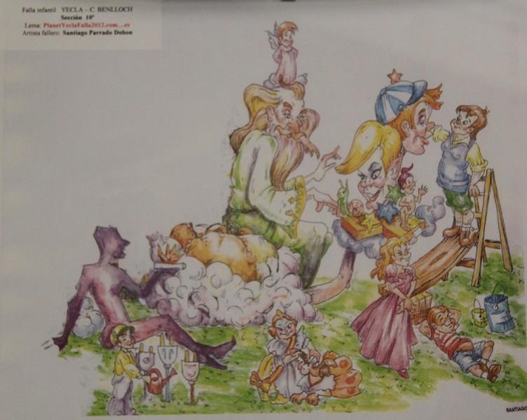 Bocetos Fallas Algiros (25)