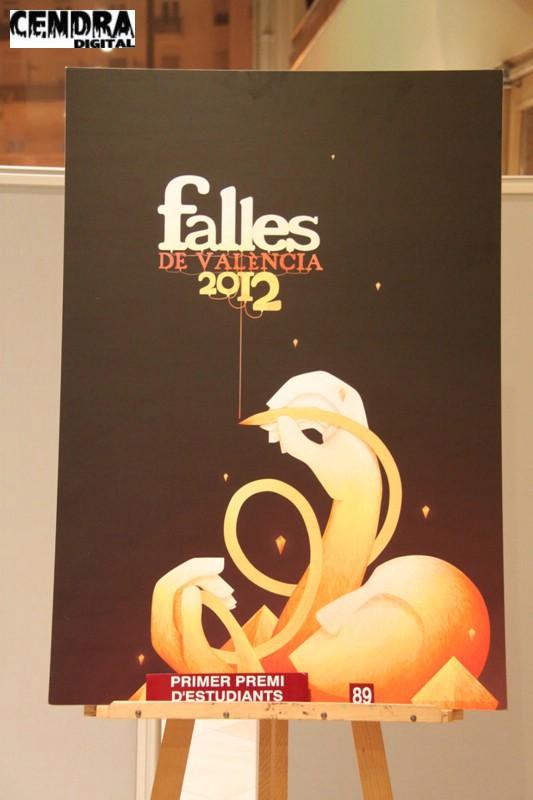Cartel Fallas 2012 Valencia (3)