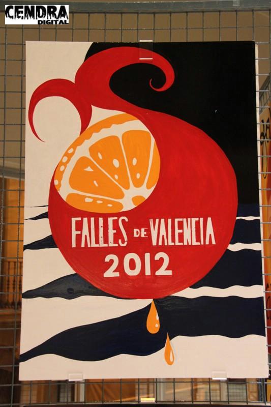 Cartel Fallas 2012 Valencia (8)
