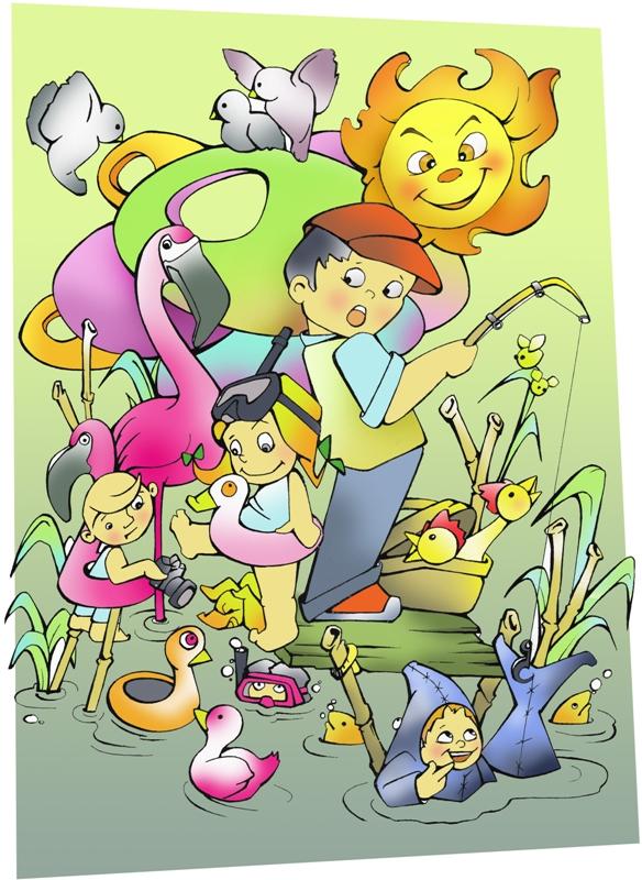 INFANTIL Aventures en el llac - CATE Y ROSA 4 copia