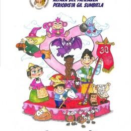 Boceto Falla infantil Alfara 2015