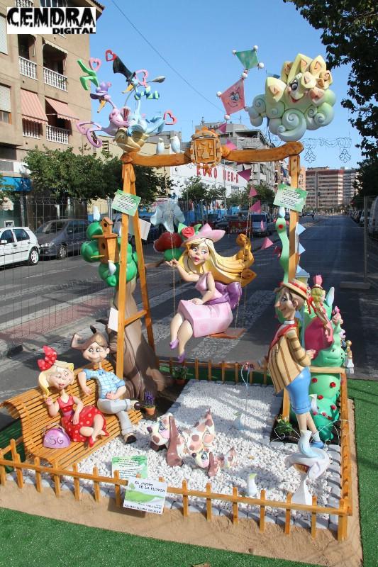 Foguera infantil florida sur 2013 de sergio g mez for 3d jardin torrent