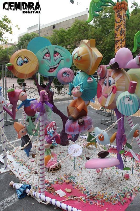 Foguera infantil campoamor norte plaza de am rica 2015 for 3d jardin torrent