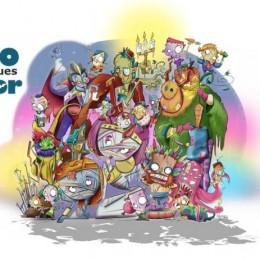 boceto falla infantil Nova Orriols 2018