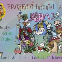 boceto falla infantil santiago rusiñol 2017