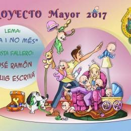 boceto falla santiago rusiñol 2017