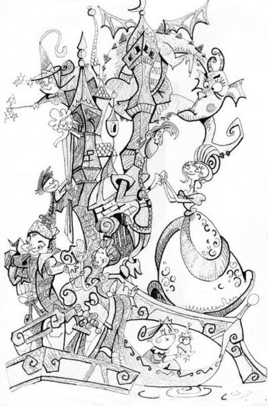 Boceto Hernan Cortes inf 2012