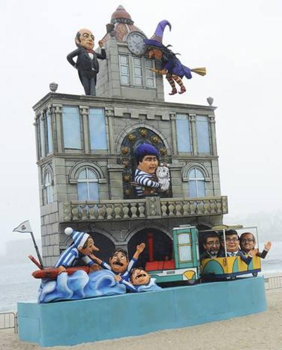 Falla Coruña 2013
