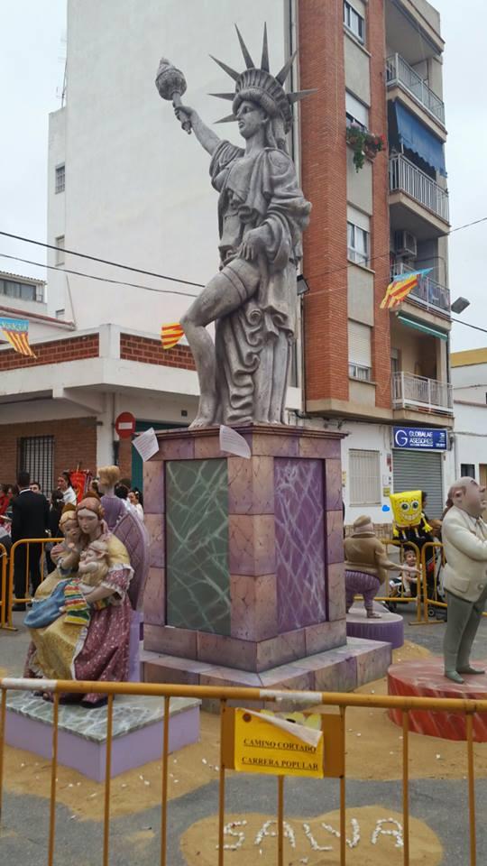 Falla Grande Plaça Llotgeta Rocafort
