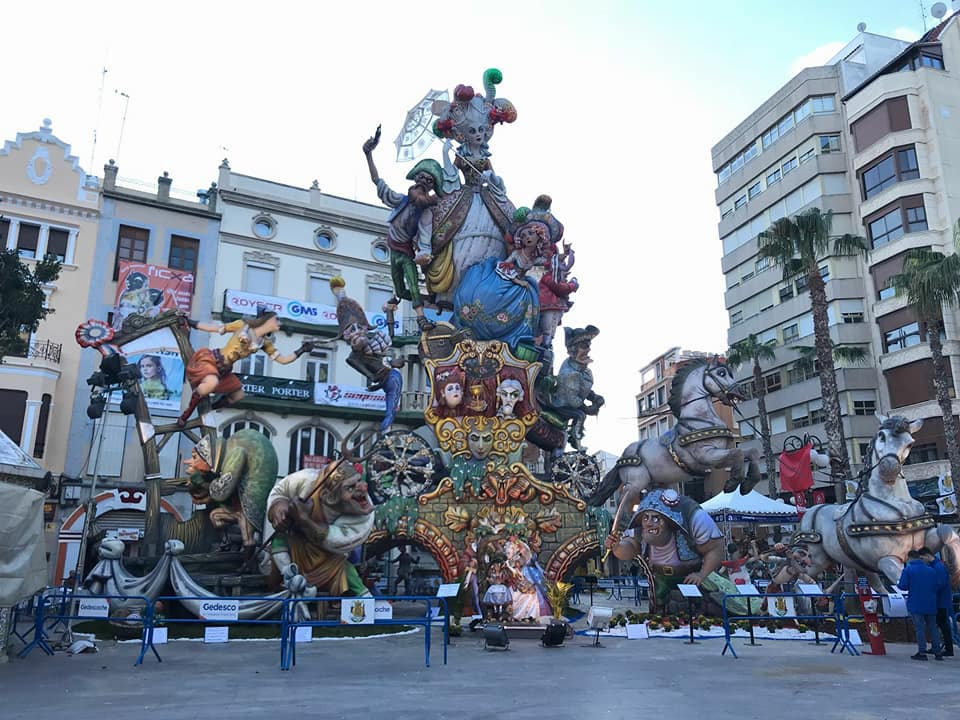 Falla Plaça Major 2018