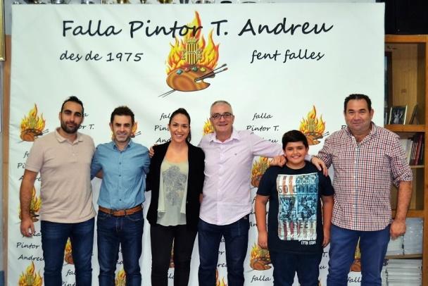 Signatura contractes - Falla Pintor Andreu 2018