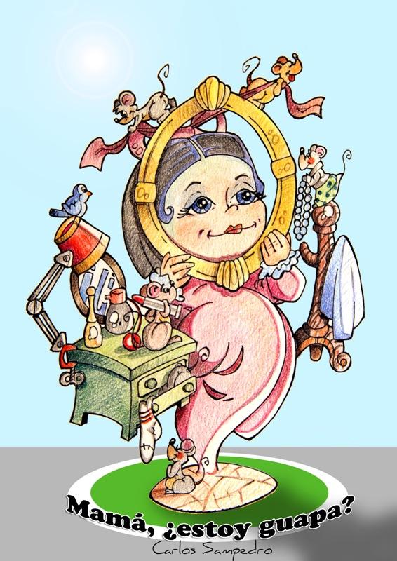 Virgen del Remedio la Cruz infantil
