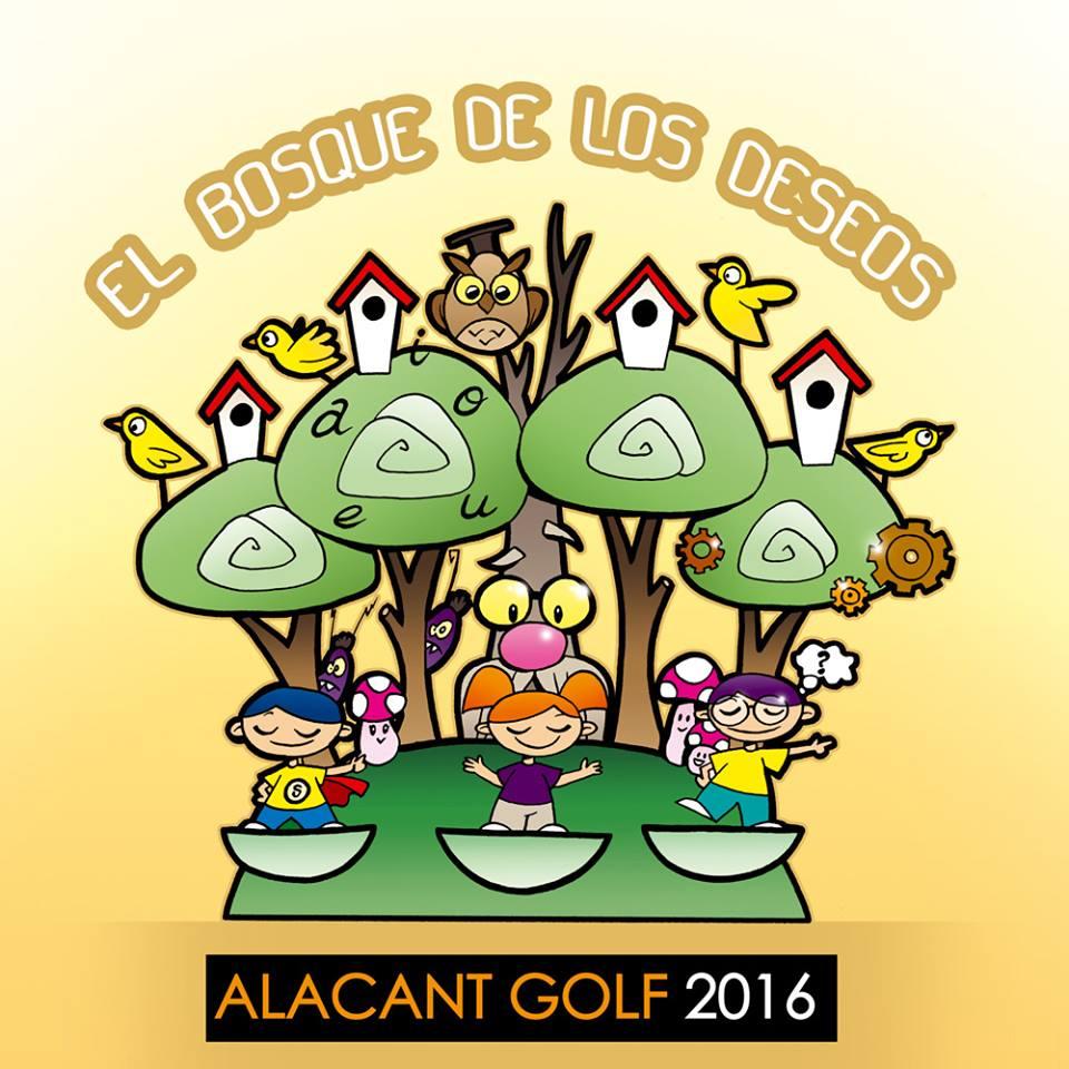 boceto falla infantil alacant golf 2016